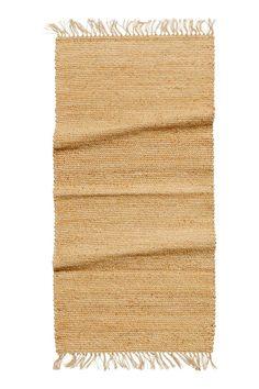 Tapis en jute - Beige - Home All Jute Mats, Jute Rug, Single Duvet Cover, Duvet Cover Sets, Washed Linen Duvet Cover, H&m Home, Rectangular Rugs, H&m Online, Natural Rug