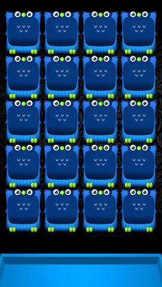 iPhone 5 wallpaper blue owls
