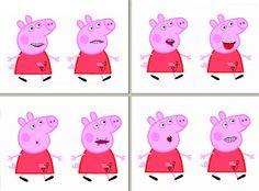 El rinconcito de Audición y Lenguaje: Praxias de Peppa Pig y de Pocoyó y Elly