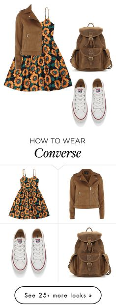 """""""Untitled #267"""" by aliinnnaaa on Polyvore featuring Converse and Dorothy Perkins"""