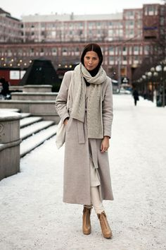 winter taupe layers