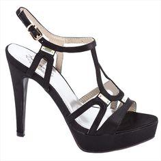Sandale de dama cu platforma 14-M41332N - Reducere 50% - Zibra Heels, Fashion, Heel, Moda, Fashion Styles, Shoes Heels, Fashion Illustrations, High Heel, High Heels