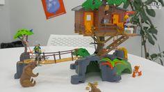 Playmobil 5557 (Wild Life) Cabane des aventuriers dans les arbres - Démo...