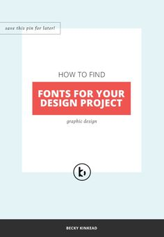 How to choose fonts for your next marketing graphic