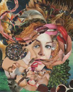 Magazine collage by Michelle Cordes