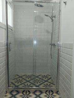 built in shower by Tatiana Doria Alcove, Bathtub, Shower, Bathroom, Building, Full Bath, Bathing, Standing Bath, Rain Shower Heads