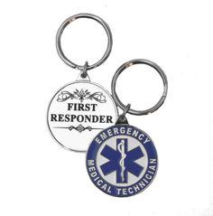 EMT First Responder Key Ring