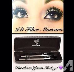 Oder your very own 3d fiber lash mascara today! Don't wait and wonder if it works! I'm telling you it does! Here's the link and order yours today! www.youniqueproducts.com/HayleyAlexander