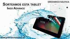 Sorteo Tablet Ingo Advance, Quad Core, 2 cámaras y 8GB.