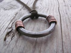 Iron Jewelry  Forged Jewelry  Forged Iron  Pendant Necklace  Iron Pendant  Hand Forged Necklace  Geometric Pendant  Rustic Necklace  Forged
