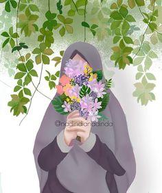 Görüntünün olası içeriği: bir veya daha fazla kişi Wallpaper Wa, Islamic Wallpaper, Animated Movie Posters, Hijab Drawing, Islamic Cartoon, Anime Muslim, Image Citation, Doodle Cartoon, Hijab Cartoon