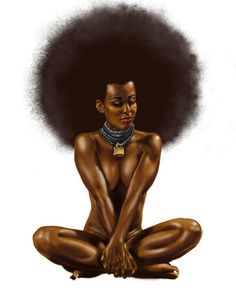 AFROcentric.......... In the 70/80's Represented sexuality of the African culture.