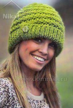 вязание крючком женских шапочек: 26 тыс изображений найдено в Яндекс.Картинках