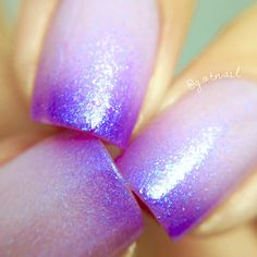 Welcome to Polish Me Silly! We are a mother / daughter team who love to create polish! ♥ Purple Pizazz is one of our Color Changing Thermal Nail