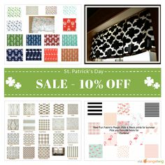 10% OFF on select products. Hurry, sale ending soon!  Check out our discounted products now: https://www.etsy.com/shop/FrostingHomeDecor?utm_source=Pinterest&utm_medium=Orangetwig_Marketing&utm_campaign=Saint%20Patricks%20Day%2010%25%20Off #etsy #etsyseller #etsyshop #etsylove #etsyfinds #etsygifts #interiordesign #stripes #onetofollow #supportsmallbiz #musthave #l..