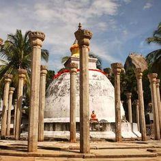 Ambasthale Dagoba, in Mihintale Sri Lanka marks the spot where Mahinda, the…