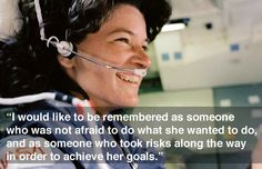 Sally Ride was the first American female astronaut. Click through for truly inspiring quotes from this incredible woman.