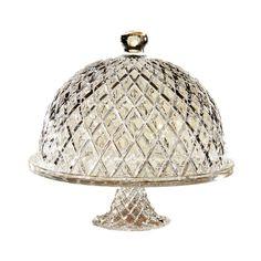 Muirfield Pedestal Cake Plate & Cloche