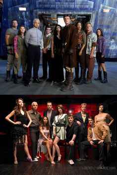 Firefly Cast, then and now. So much shiny pretty-ness #firefly