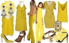 Moda giallo senape custard