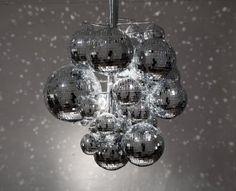 lampe disco boule à facettes