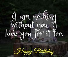 Romantic Birthday Wishes for Wife: Wife is a gift that is precious and must be given respect. Here we go with Romantic Birthday Wishes for Wife. Birthday Surprise For Mom, Birthday Wishes For Wife, Romantic Birthday Wishes, Birthday Girl Quotes, Birthday Card Sayings, Birthday Party For Teens, Birthday Wishes Quotes, Birthday Love, Best Birthday Gifts