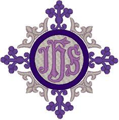 Vintage Ecclesiastical Design 679 Embroidery Design