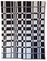 Anne R. Parker     love the balance in  this black and white quilt