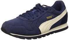 Puma  ST Runner SD,  Unisex-Erwachsene Turnschuhe  XL Peacoat/Whisper White/Oro/Nero - http://on-line-kaufen.de/puma/3-puma-st-runner-sd-unisex-erwachsene-sneakers-04-9
