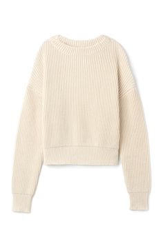 Weekday image 3 of Butter Knit Sweater in Beige Light