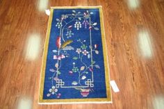 Art-Deco Nichols Chinese rug from the 1920sDeco Chinese