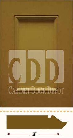 SH15 Traditional - buy MDF Cabinet Doors online | Cabinet Door Depot