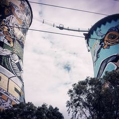 Would you bungee jump from here? #OrlandoTowers, #Soweto, #Johannesburg (100m). Having done half that height at the #NileHighBungee in #Jinja, #Uganda, this is next on my list. CLICK http://www.chickabouttown.com/travel-south-africa-soweto-johannesburg/ to read more about my experience in Soweto.  #SouthAfrica #CitySightseeingJoburg #CitySightseeing #Bungee #BungeeJumping