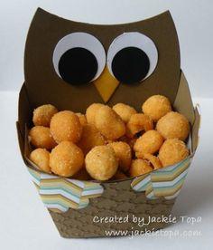 Fry Box Owl Stampin' Up!