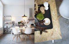 Inspirerend huis in Zweden van 74m2