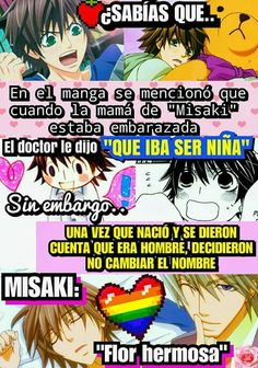 Para recordar :3 Junjou Romantica Misaki, Memes Historia, Otaku Issues, Nisekoi, Happy Tree Friends, Spanish Humor, Gaara, Shounen Ai, Otaku Anime