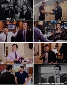 Sweets and Booth's friendship #Bones