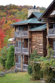 The Buckhorn Inn in the Great Smokey Mountains.
