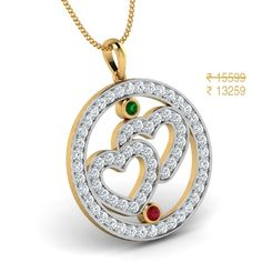 Forever Yours Heart Pendant - Valentine's Day Jewellery Gift 2015 Valentine Day Special, Valentines Day Hearts, Jewelry Gifts, Gold Jewelry, Jewellery, Diwali Sale, Washer Necklace, Pendant Necklace, Forever Yours