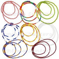 ORISHAS NECKLACE Yoruba Beads Lucumi Ifa Santeria Cuba Elekes COLLARES ORICHAS #Handmade #Collar