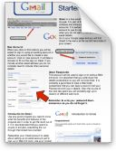 Great starter sheets (instructions) for google docs, blogger, pixlr and gmail