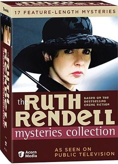 'The Ruth Rendell Mysteries Collection' (1987-2000) is a British television series comprised of adaptations of the works of best-selling crime writer Ruth Rendell (Baroness Rendell of Babergh), many of which are based on her extensive range of short stories. Her stories are both mystery, thriller and suspense. I like company when watching these unsettling programs.  '>)