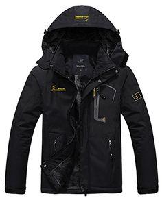 WantDo Men's Waterproof Mountain Jacket Fleece Windproof Ski Jacket(Black,US 2XL) Wantdo http://www.amazon.com/dp/B00PVDHPYK/ref=cm_sw_r_pi_dp_cT9Cwb06BQBJP