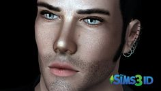 Contacts 2 and Eyebrows by David Veiga - Sims 3 Downloads CC Caboodle