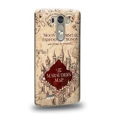 Case88 Premium Designs Harry Potter & Hogwarts Collections Marauder's Map Protective Snap-on Hard Back Case Cover for LG G3:Amazon:Cell Phones & Accessories