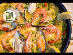 Paella ganz einfach selbst zubereiten #chefkoch - YouTube