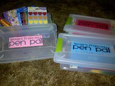 First Grade is a Treat!: Pen Pals!