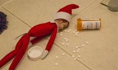 Adult Elf on the Shelf.. teethe