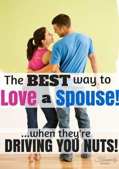 What started out as an act of revenge ended up teaching me the greatest way to love my husband!