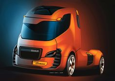 Is this how future DAF Trucks will look like?